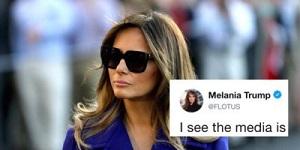 Melania Tweet
